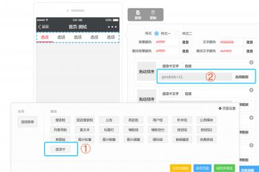 [私有] 人人商城小程序端显示会员折扣价之自定义选项卡模板