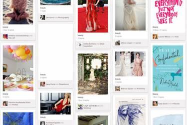 上线一年即被国内大量山寨 Pinterest模式魅力何在
