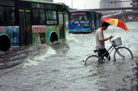 郑州又下大暴雨了