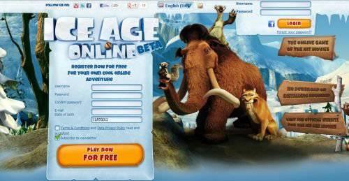 冰河世纪(Ice Age) 4 与 页游冰河世纪OL同步上映