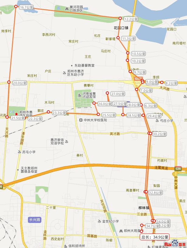 十一骑行路线图